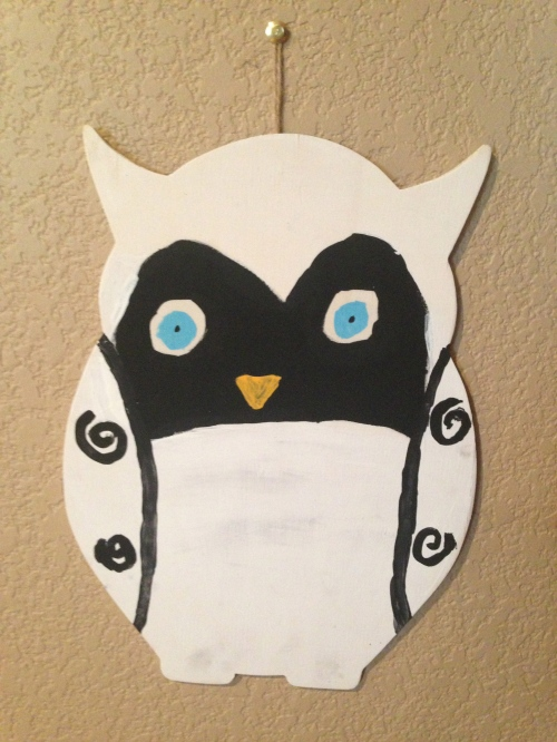 Snowy Owl, by Chelsea, age 10, Summer 2013