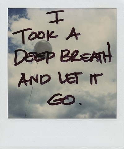letting go - kite
